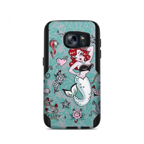 Molly Mermaid OtterBox Commuter Galaxy S7 Skin