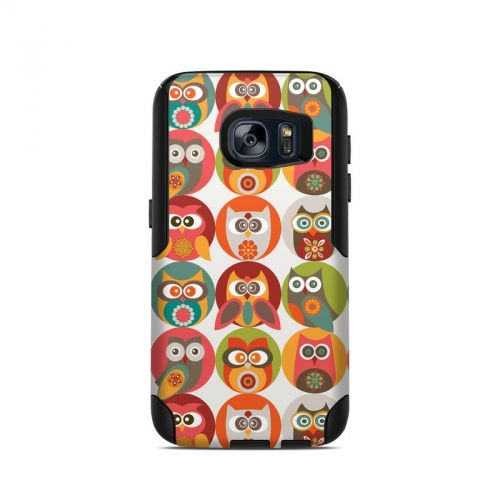 Owls Family OtterBox Commuter Galaxy S7 Skin