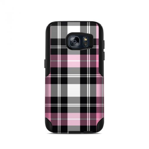 Pink Plaid OtterBox Commuter Galaxy S7 Skin