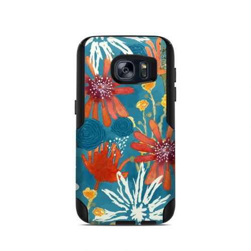 Sunbaked Blooms OtterBox Commuter Galaxy S7 Case Skin