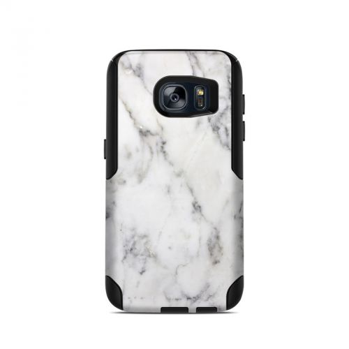 White Marble OtterBox Commuter Galaxy S7 Case Skin