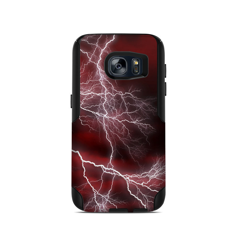 Apocalypse Red OtterBox Commuter Galaxy S7 Case Skin