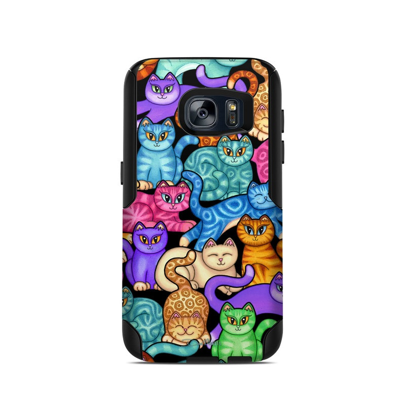 Colorful Kittens OtterBox Commuter Galaxy S7 Case Skin