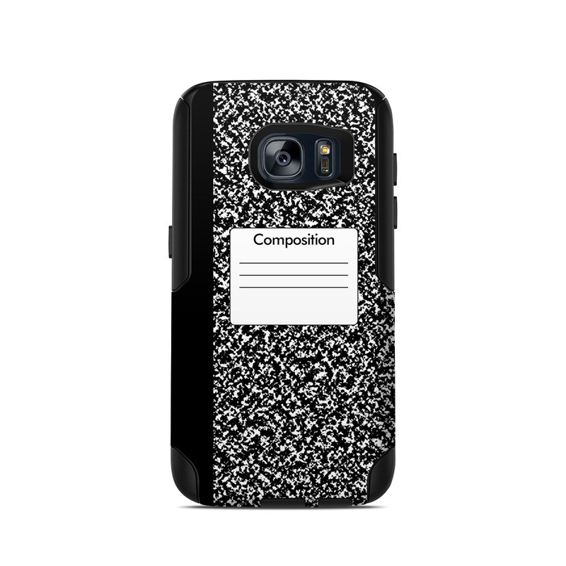 Composition Notebook OtterBox Commuter Galaxy S7 Case Skin