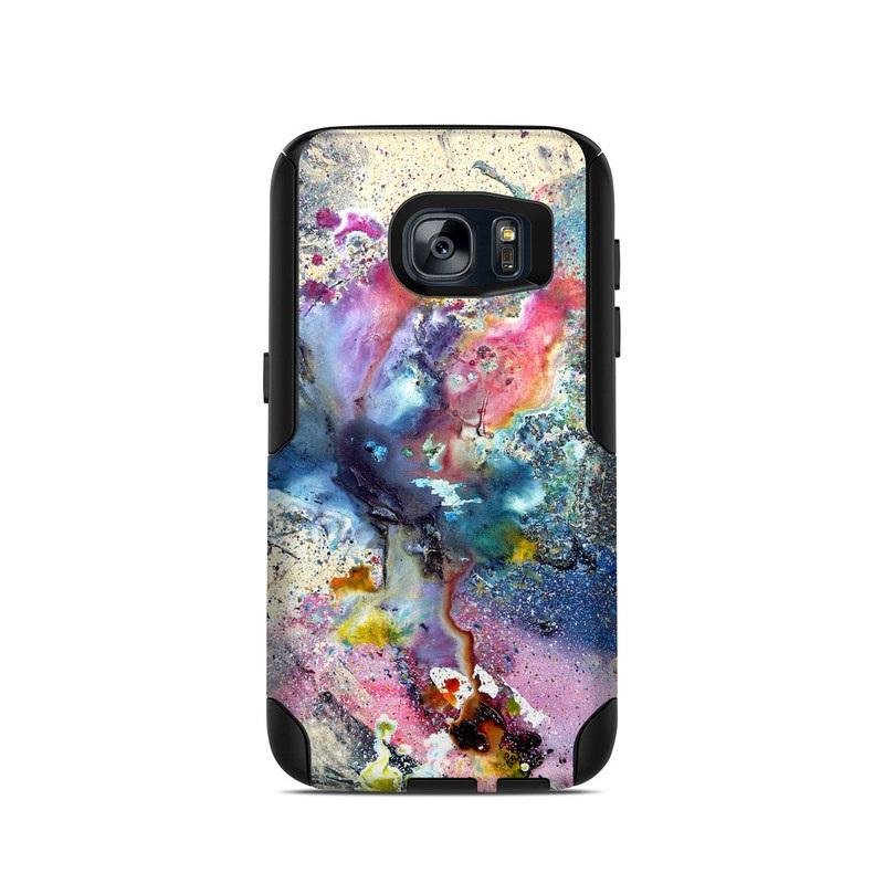 Cosmic Flower OtterBox Commuter Galaxy S7 Skin