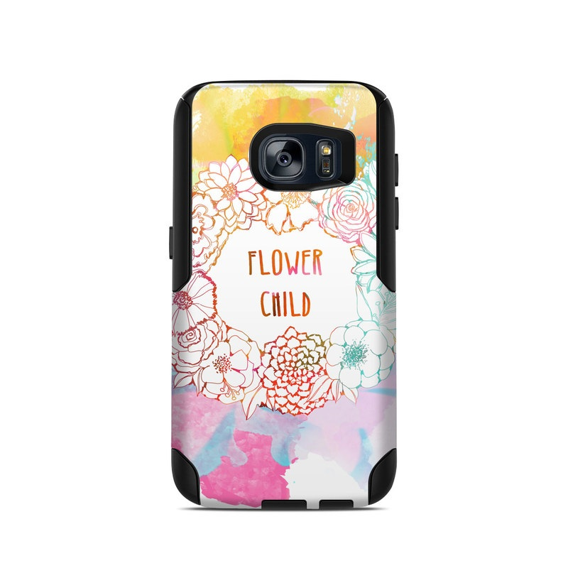 Flower Child OtterBox Commuter Galaxy S7 Skin