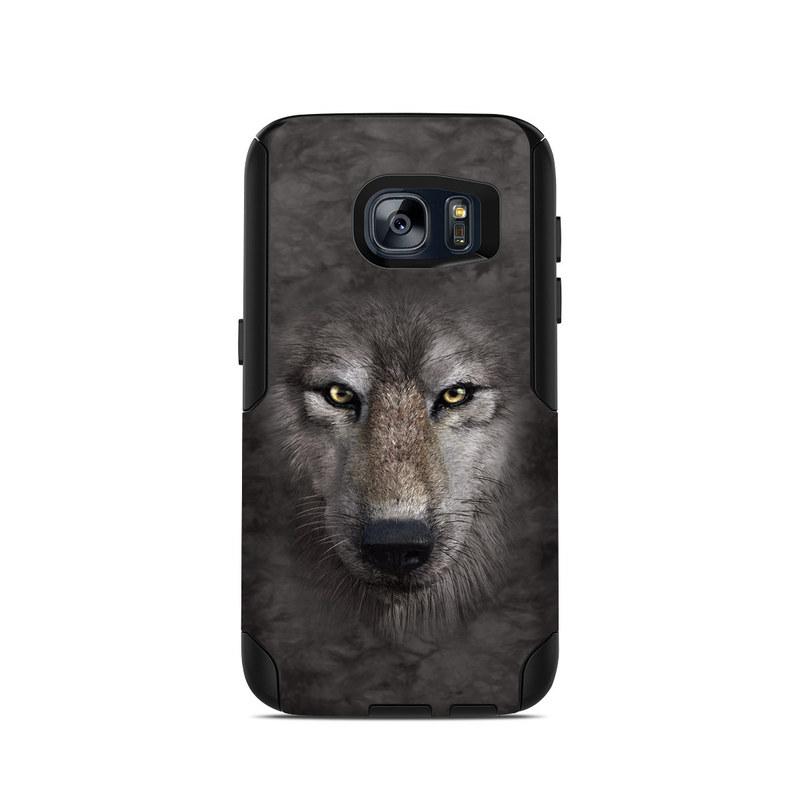 Grey Wolf OtterBox Commuter Galaxy S7 Case Skin