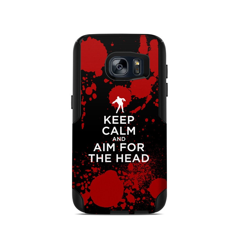 Keep Calm - Zombie OtterBox Commuter Galaxy S7 Skin