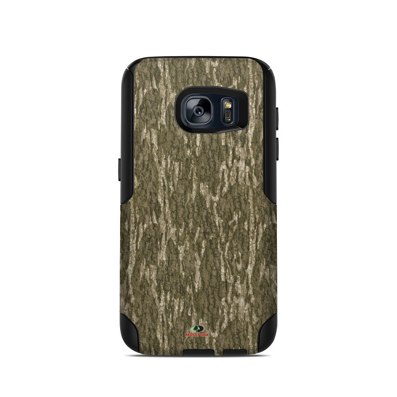 OtterBox Commuter Galaxy S7 Case Skin design of Grass, Brown, Grass family, Plant, Soil with black, red, gray colors