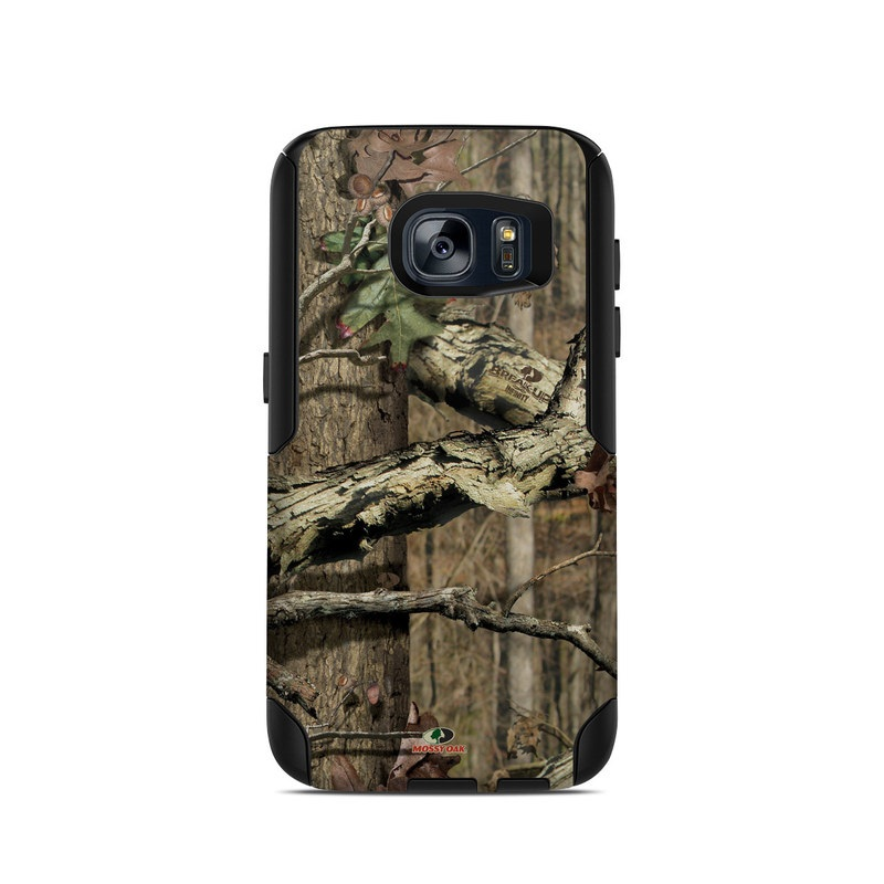 OtterBox Commuter Galaxy S7 Case Skin design of Tree, Military camouflage, Camouflage, Plant, Woody plant, Trunk, Branch, Design, Adaptation, Pattern with black, red, green, gray colors