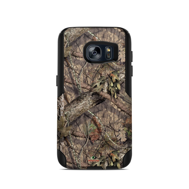 OtterBox Commuter Galaxy S7 Case Skin design of shellbark hickory, Camouflage, Tree, Branch, Trunk, Plant, Leaf, Adaptation, Wood, Twig with orange, green, red, black, gray colors