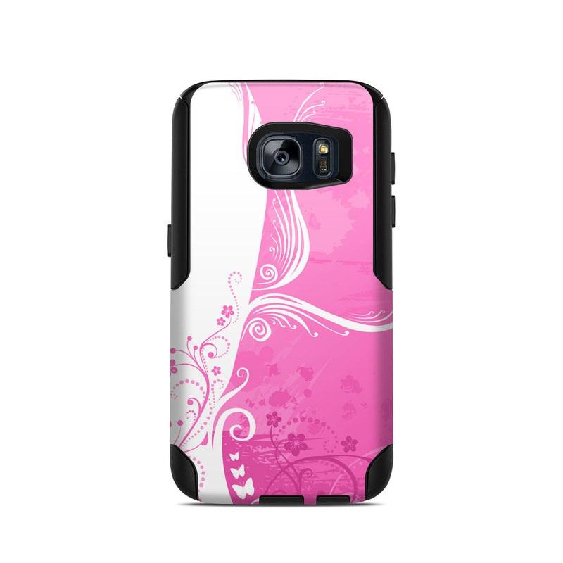 Pink Crush OtterBox Commuter Galaxy S7 Skin