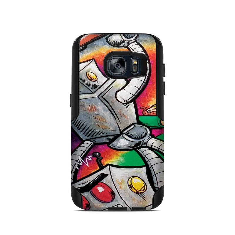 Robot Beatdown OtterBox Commuter Galaxy S7 Case Skin
