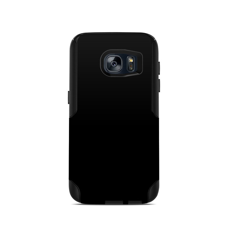 OtterBox Commuter Galaxy S7 Case Skin design of Black, Darkness, White, Sky, Light, Red, Text, Brown, Font, Atmosphere with black colors