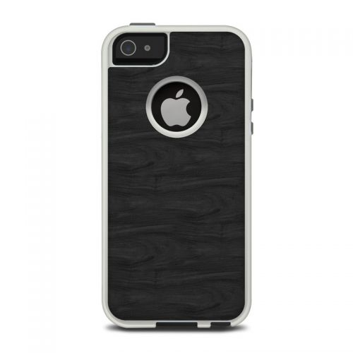 Black Woodgrain OtterBox Commuter iPhone 5 Skin