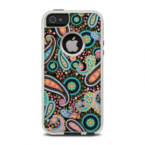 Crazy Daisy Paisley OtterBox Commuter iPhone 5 Skin