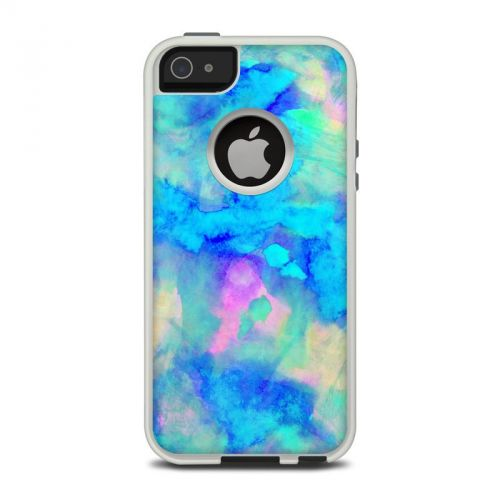 Electrify Ice Blue OtterBox Commuter iPhone 5 Skin