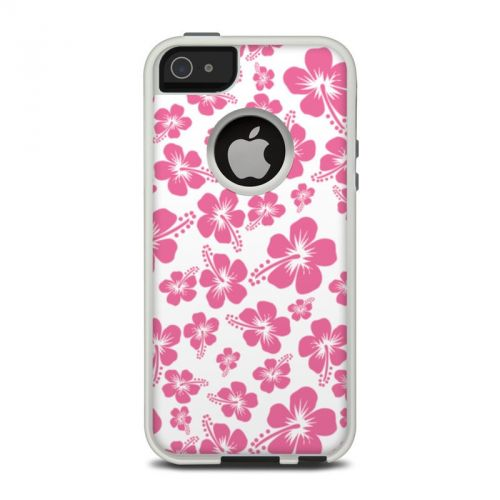 Pink Hibiscus OtterBox Commuter iPhone 5 Skin