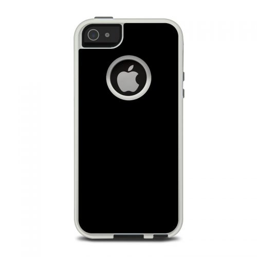 Solid State Black OtterBox Commuter iPhone 5 Skin