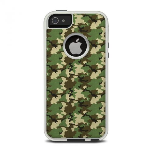 Woodland Camo OtterBox Commuter iPhone 5 Skin