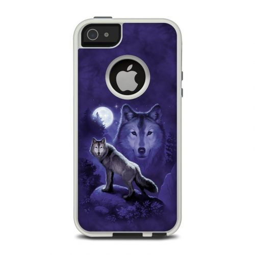 Wolf OtterBox Commuter iPhone 5 Skin