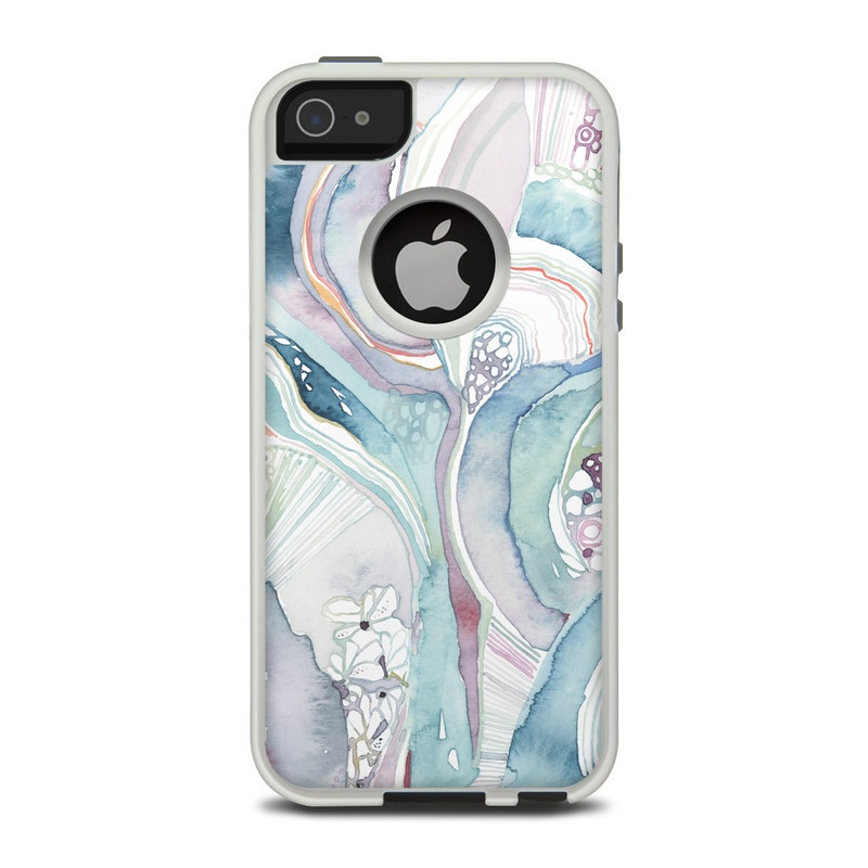 Abstract Organic OtterBox Commuter iPhone 5 Skin