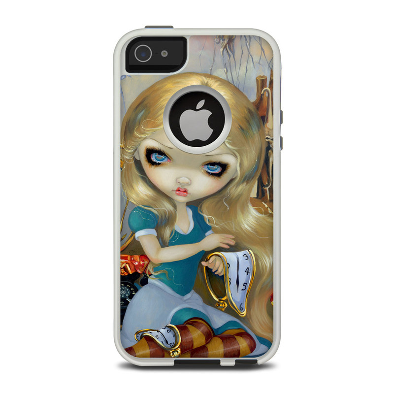 OtterBox Commuter iPhone 5 Case Skin design of Doll, Illustration, Cg artwork, Cartoon, Blond, Iris, Toy, Art, Fictional character, Long hair with yellow, blue, red, brown colors