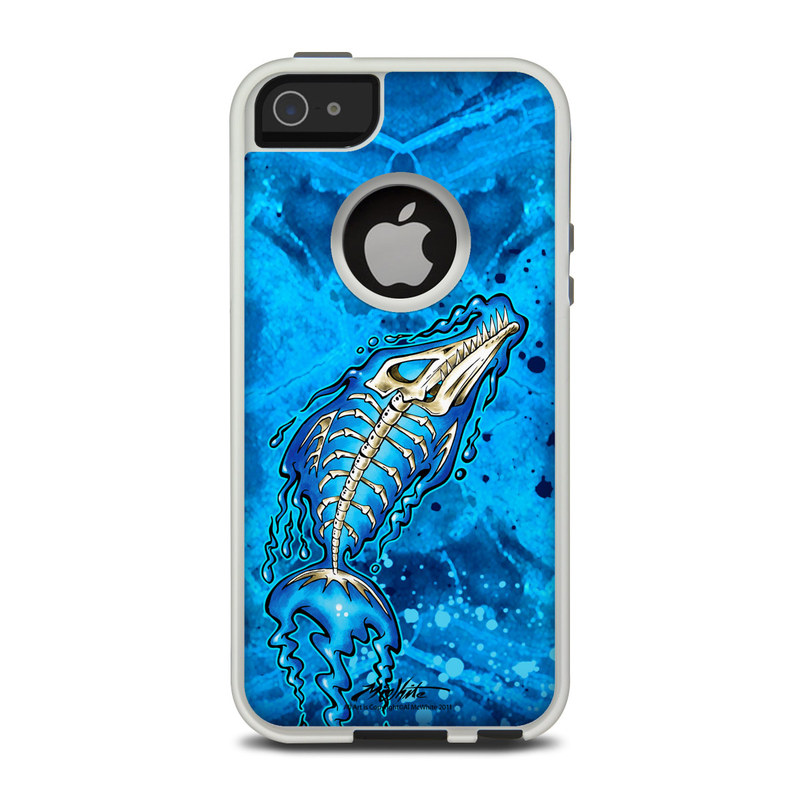 Barracuda Bones OtterBox Commuter iPhone 5 Skin