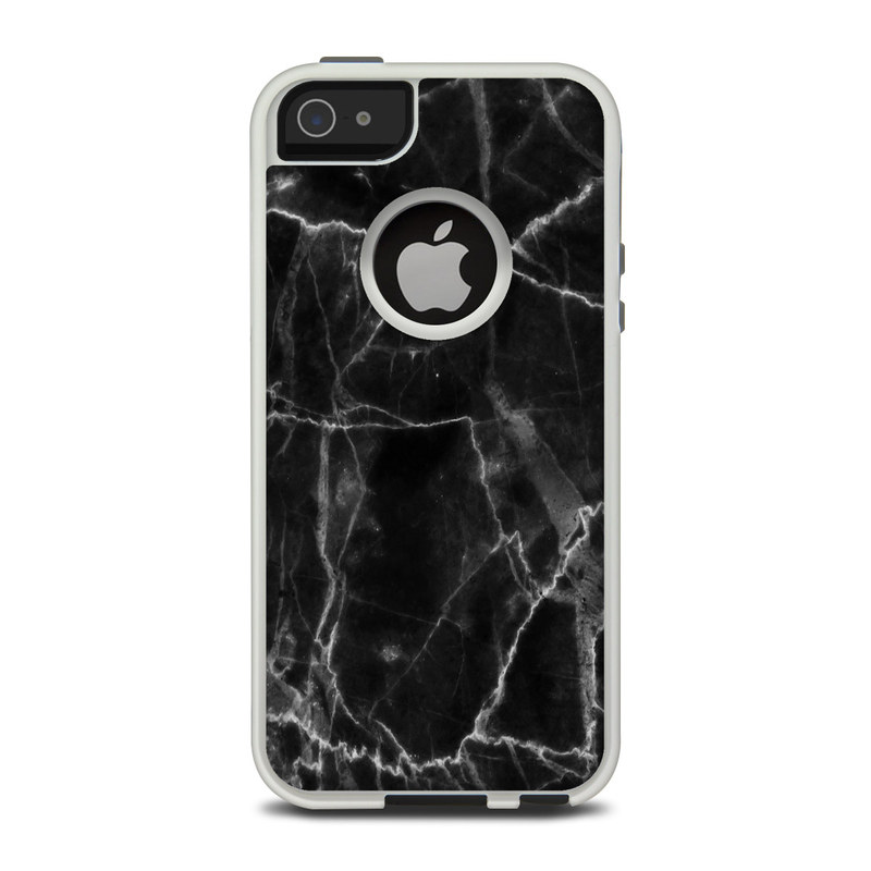 Black Marble OtterBox Commuter iPhone 5 Skin