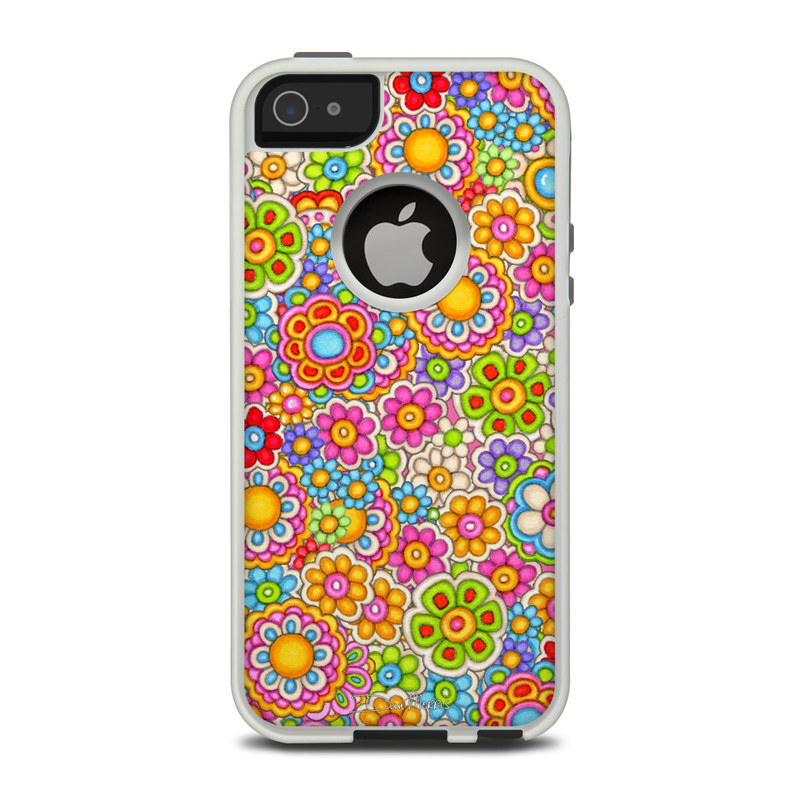 Bright Ditzy OtterBox Commuter iPhone 5 Skin