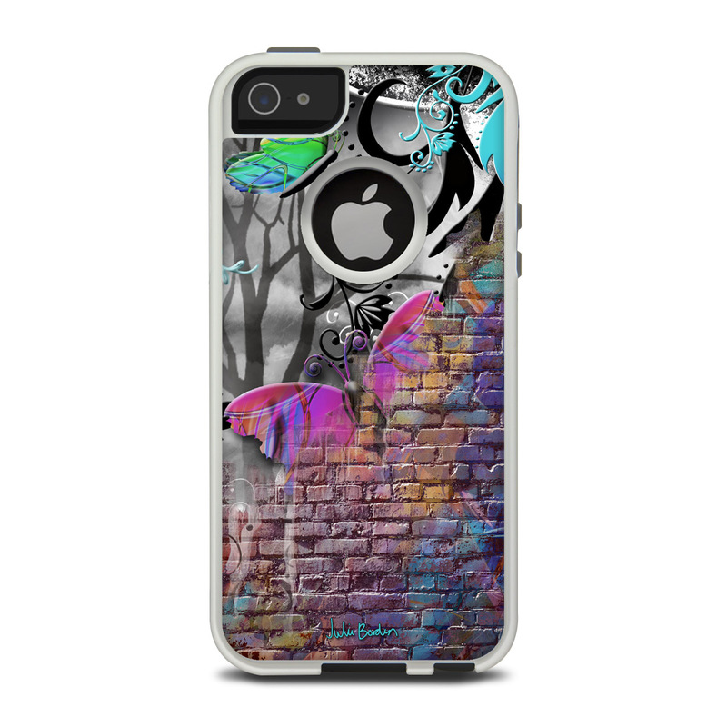 Butterfly Wall OtterBox Commuter iPhone 5 Skin