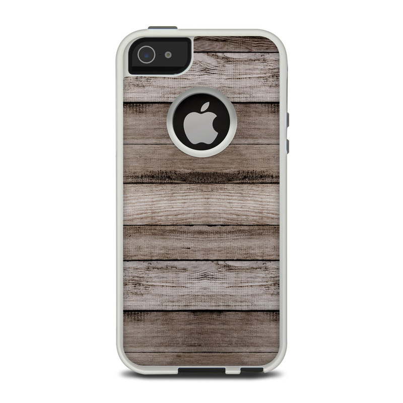 Barn Wood OtterBox Commuter iPhone 5 Skin