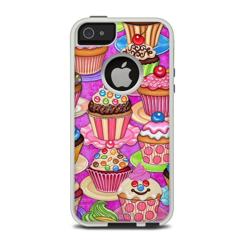 Cupcake OtterBox Commuter iPhone 5 Skin