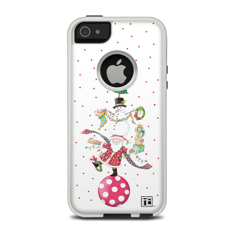 Christmas Circus OtterBox Commuter iPhone 5 Skin