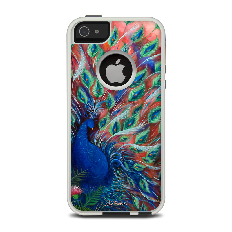 Coral Peacock OtterBox Commuter IPhone 5 Skin // IStyles