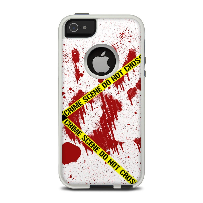 Crime Scene Revisited OtterBox Commuter iPhone 5 Skin