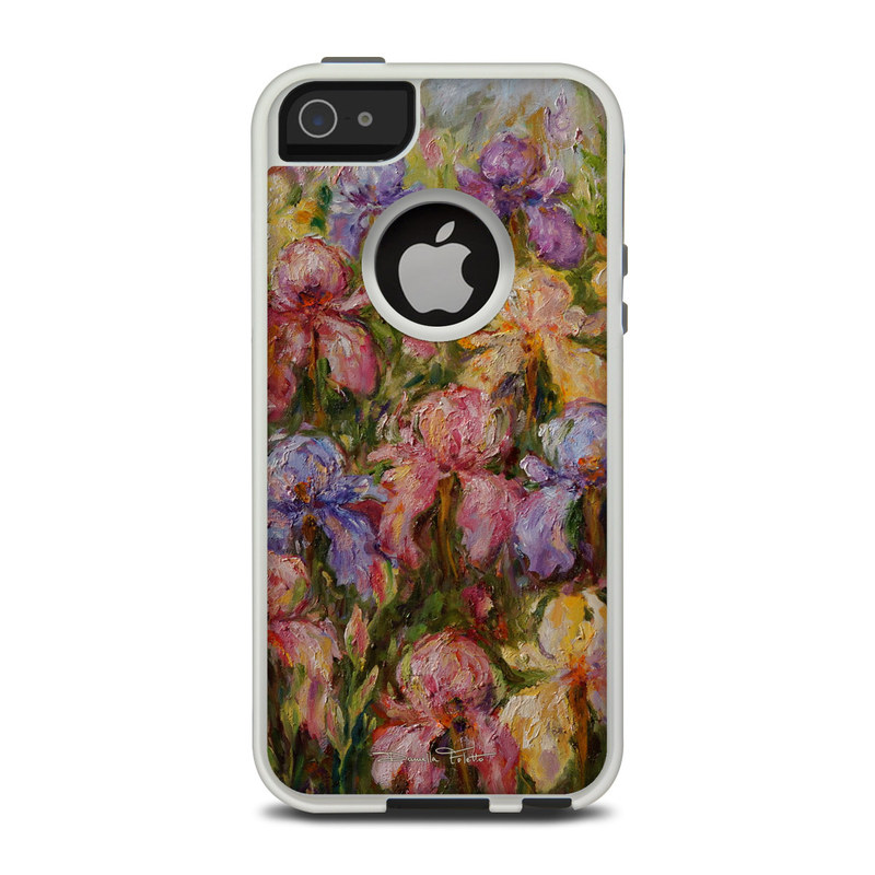 Field Of Irises OtterBox Commuter iPhone 5 Skin