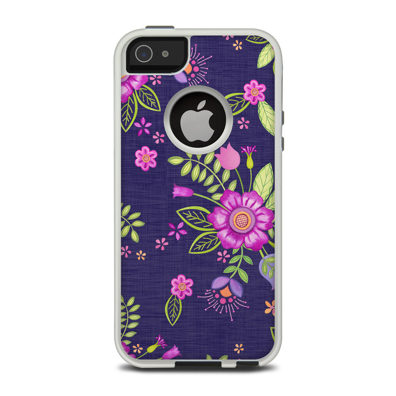 Folk Floral OtterBox Commuter iPhone 5 Skin