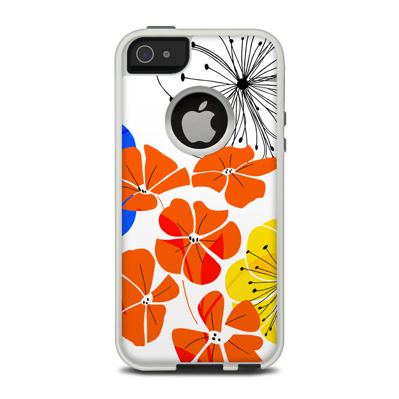Hibiscus Dance OtterBox Commuter iPhone 5 Skin
