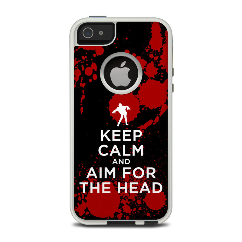 Keep Calm - Zombie OtterBox Commuter iPhone 5 Skin