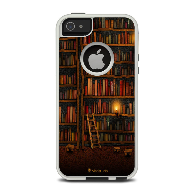 Library OtterBox Commuter iPhone 5 Skin