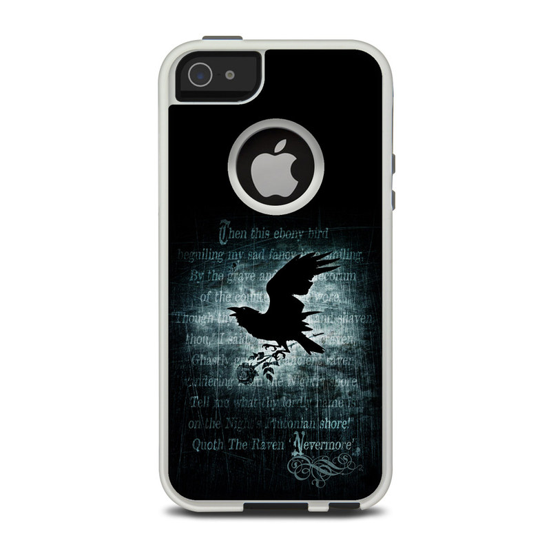 Nevermore OtterBox Commuter iPhone 5 Skin