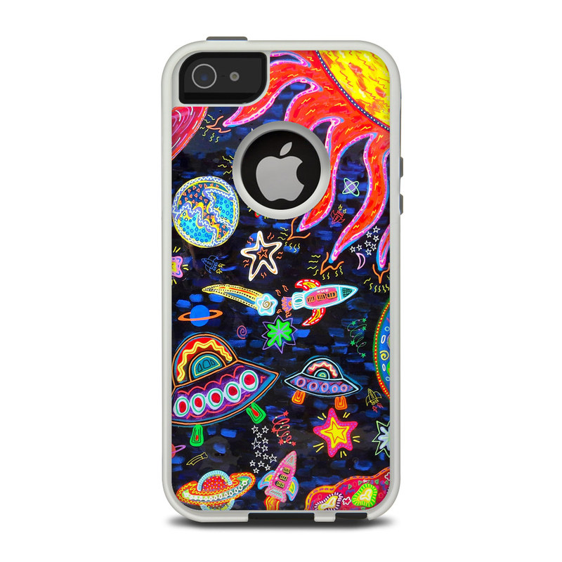 Out to Space OtterBox Commuter iPhone 5 Skin