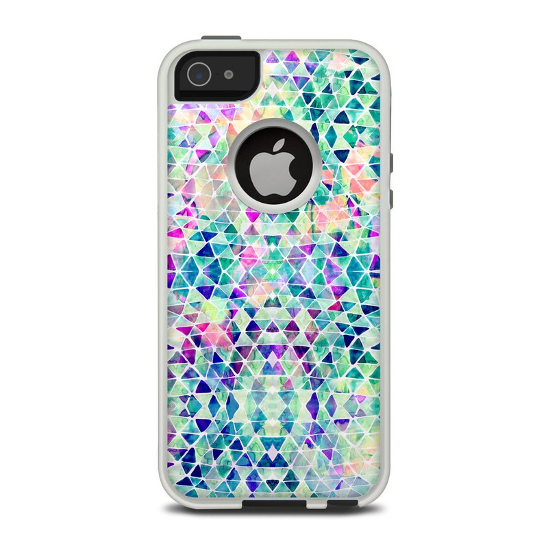 Pastel Triangle OtterBox Commuter iPhone 5 Skin