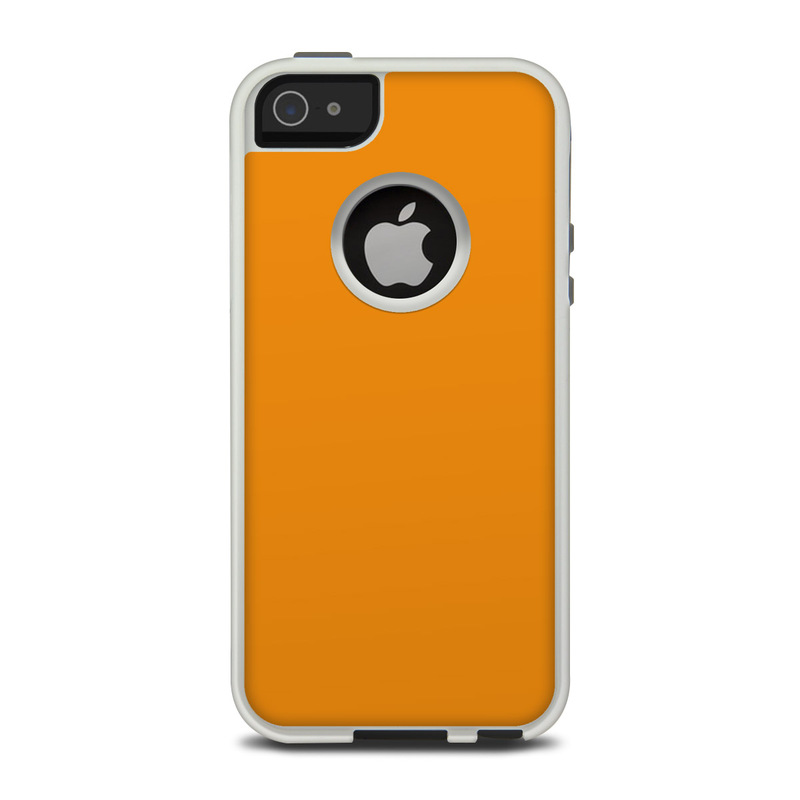Solid State Orange OtterBox Commuter iPhone 5 Skin