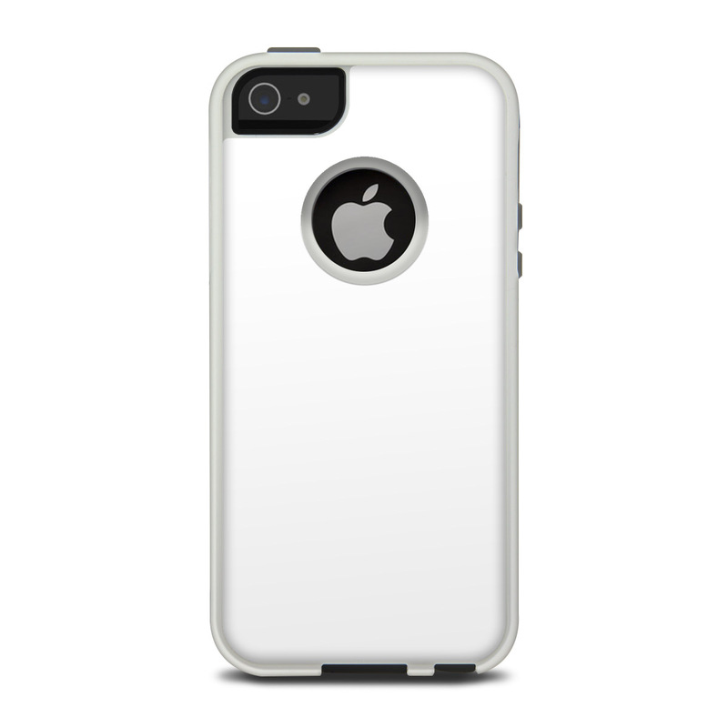 Solid State White OtterBox Commuter iPhone 5 Skin
