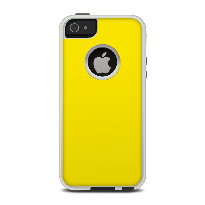 Solid State Yellow OtterBox Commuter iPhone 5 Skin