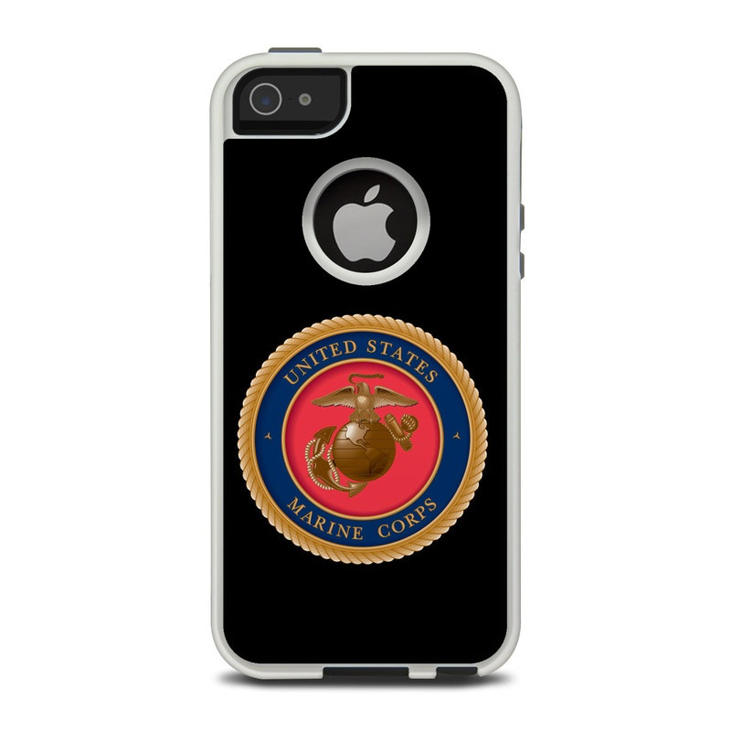 USMC Black OtterBox Commuter iPhone 5 Skin