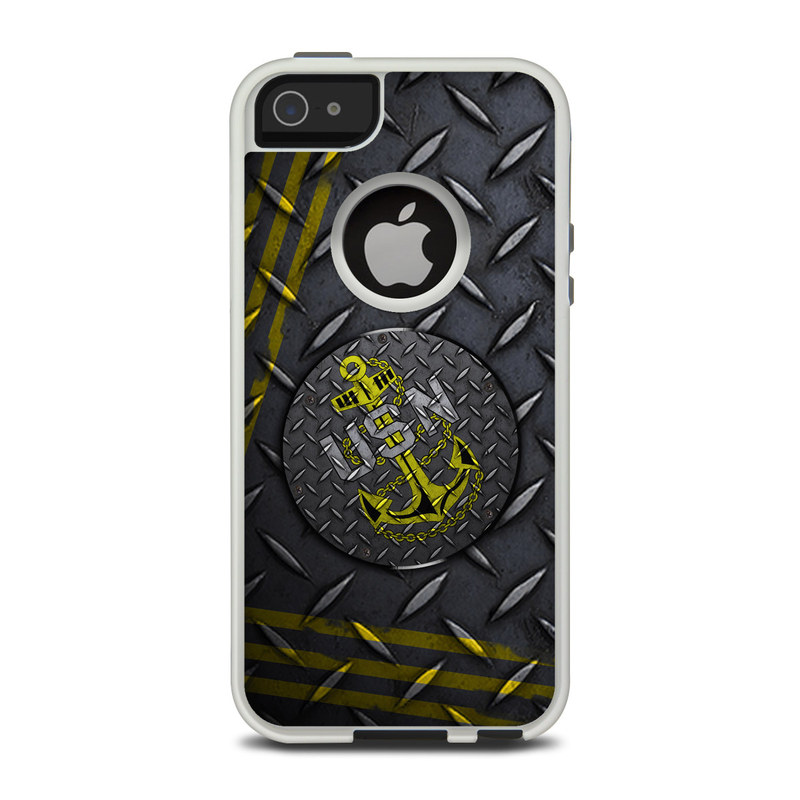 USN Diamond Plate OtterBox Commuter iPhone 5 Skin