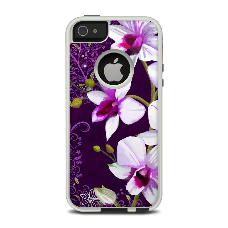 Violet Worlds OtterBox Commuter iPhone 5 Skin